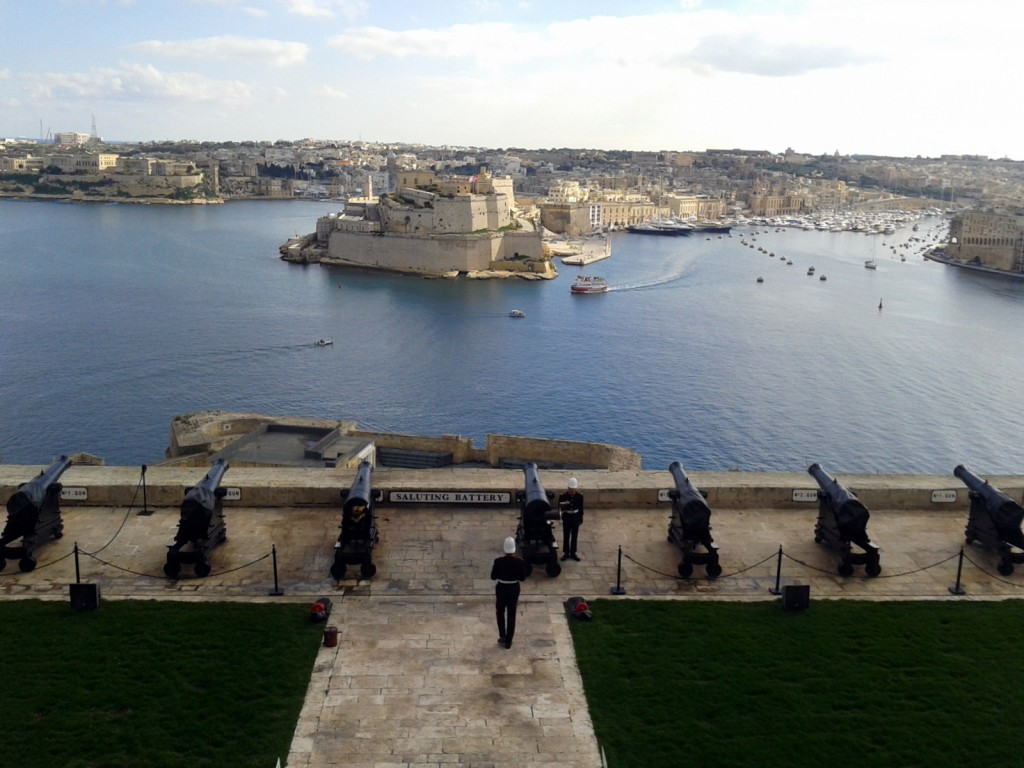 Salutting Battery Malta